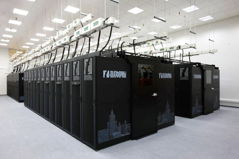 Supercomputador Lomonosov Foto: T-Platformi