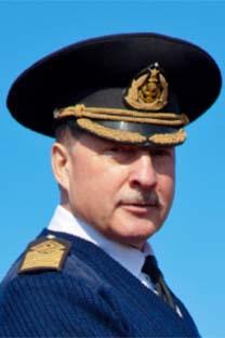 Nikolai Zórtchenko, capitão do maior barco a vela do mundo