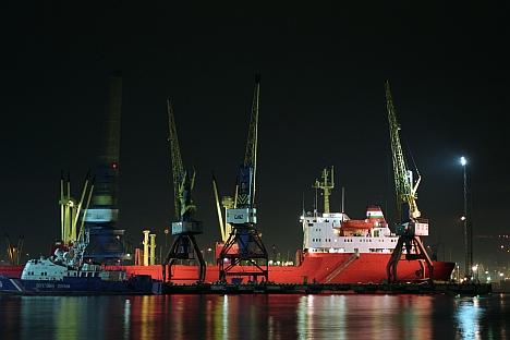 Uma ação de 20% do porto marítimo de Novorossiisk, o maior porto da Rússia, deve ser colocado a venda no final do ano junto outros bens estatais Foto: ITAR-TASS