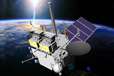 Aparelho espacial Electro-L Foto: Divulgação