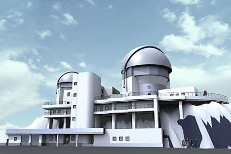 O espelho principal do novo telescópio terá 3,12 metros de diâmetro