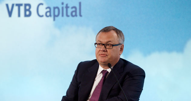 Andrêi Chemetov, diretor-geral do VTB Capital Foto: AP