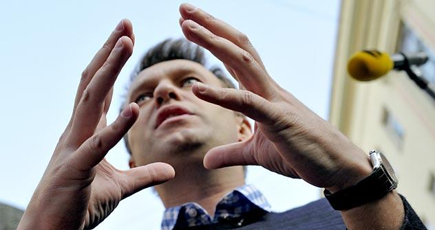 Blogueiro da oposição Aleksêi Naválni Foto: Kommersant
