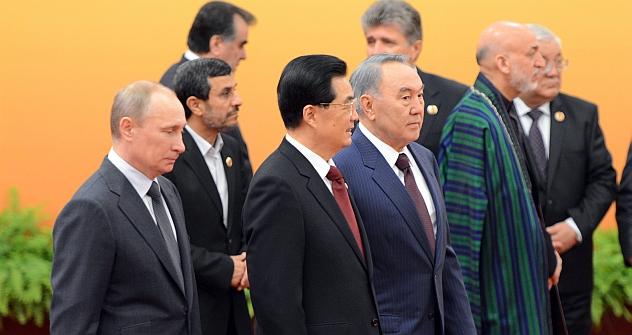 Encontro da SCO marca aproximação entre Rússia, China e Afeganistão Foto: Reuters
