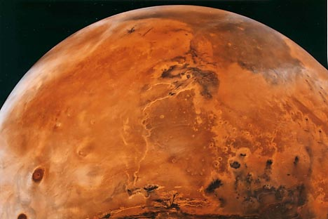 """De acordo com Khartov, não vale a pena levar um homem até Marte """"simplesmente para que ele deixe sua pegada"""". Foto: NASA"""