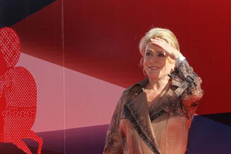 Atriz francesa Catherine Deneuve Foto: RIA Nóvosti