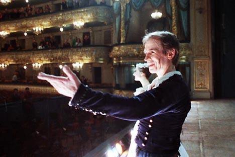 Bailarino soviético Rudolf Nureyev. Foto: TASS