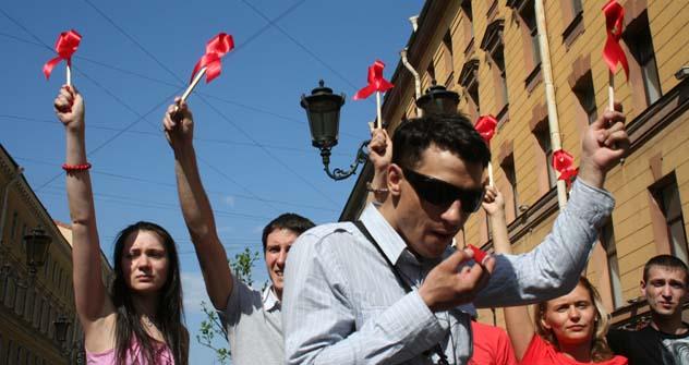 No ano passado, a Rússia doou US$ 31 milhões para organizações que estão implementando programas de HIV. Foto: TASS