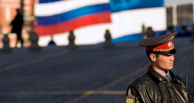 Quanto ao número de policiais per capita, a Rússia continua, como antes, na liderança mundial. Foto: AFP/East News