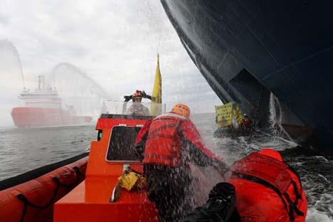 O risco é calculado sobre uma área de mais de 140 mil quilômetros quadrados. Foto: greenpeace.org/russia/ru/