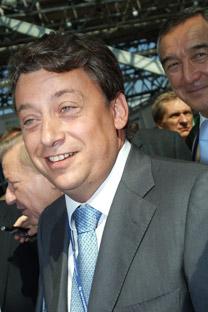 Diretor-geral da Voênno-Promichlennai Kompânia (Empresa de Equipamentos Militares), Dmítri Gálkin. Foto: TASS