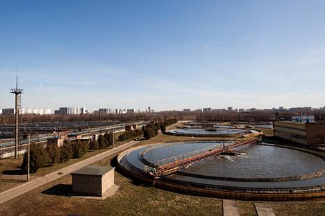 Estação de tratamento de água doce perto de Moscou. Foto: TASS