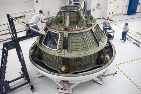 Nave tripulada Orion. Foto: NASA