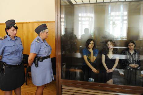 Apoiado internacionalmente, trio contesta validade do julgamento Foto: ITAR-TASS