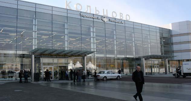 Aeroporto Koltsovo, em Ekaterinburgo, é o maior dos aeroportos regionais. Foto: Kommersant