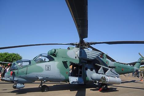 AH-2 Sabre. Foto: Divulgação