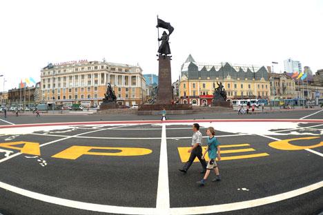 A intensificação das relações econômicas entre a Rússia e os países da APEC está intimamente ligada à influência política russa na região. Foto: RIA Nóvosti