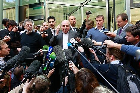 Berezovski alegava que Abramovitch lhe traiu e forçou a vender suas ações da petrolífera russa Sibneft. Foto: Reuters