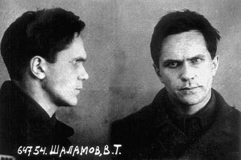 Varlam Chalámov no campo de trabalhos forçados soviético. Foto: Divulgação