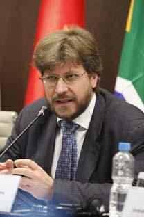 Editor-chefe da revista Russia in Global Affairs Fiódor Lukiânov. Foto: Divulgação Fiesp