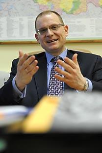 Delegado dos direitos humanos da diplomacia russa, Konstantin Dolgov. Foto: Kommersant