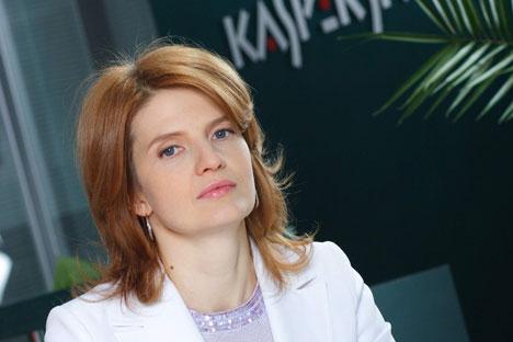 Ex-esposa do fundador da Kaspersky Lab, Natália Kaspersky. Foto: Kommersant