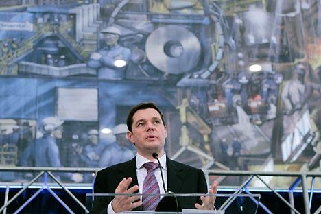 Diretor-geral da sociedade anônima de capital aberto Severstal, Aleksêi Mordachov. Foto: TASS