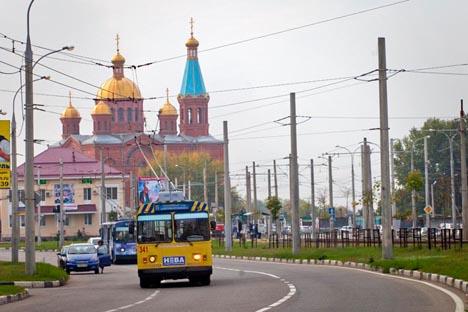 Središče regije Kuban je mesto Krasnodar.