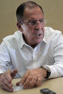 O ministro dos Negócios Estrangeiros da Rússia, Serguêi Lavrov. Foto: mid.ru