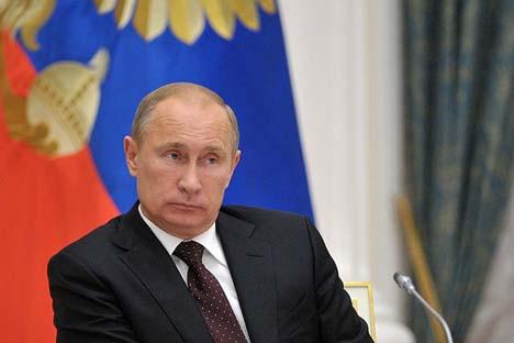 Presidente russo Vladímir Pútin  Foto: kremlin.ru