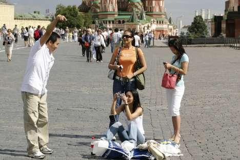 Isenção de vistos entre países é aposta de estande moscovita na WTM Latin America Foto: Vostock Photo