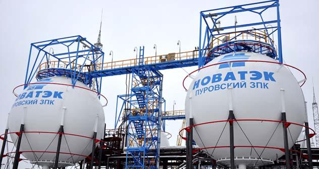 Novatek é o segundo maior produtor de gás natural na Rússia após a gigante Gazprom. Foto: TASS