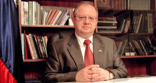 Embaixador russo no Brasil Serguêi Akopov. Foto: Embaixada da Federação Russa em Brasília