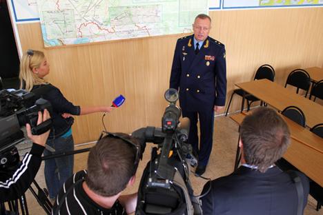 Comandante da aviação estratégica russa, general Anatóli Jíkharev. Foto: mil.ru