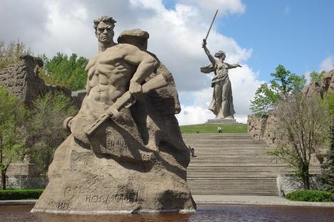 Memorial no Mamaev Kurgan. Foto: Divulgação