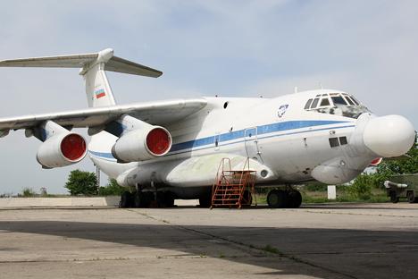 """Laboratório voador"" A-60. Foto: russianplanes.net"