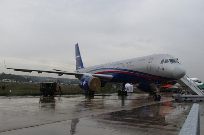 Tu-154M Lc-1 avião do Tratado de Céus Abertos. Foto: Divulgação