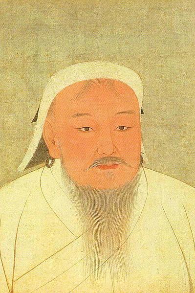 Gêngis Khan Ilustração: wikipedia.org