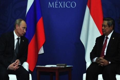 Rússia retomou a presidência do G20 do México. Foto: RIA Nóvosti