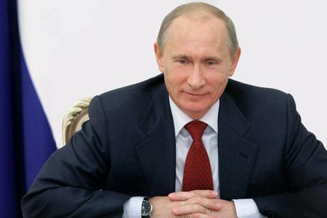 Presidente russo Vladímir Pútin Foto: президент.рф