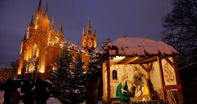 Na capital, há uma dúzia de comunidades católicas –são 250 na Rússia Foto: cathmos.ru