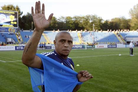 No novo cargo, brasileiro deve ser uma espécie de guia do futebol internacional para Suleiman Kerimov, o bilionário  proprietário do clube  Foto: TASS