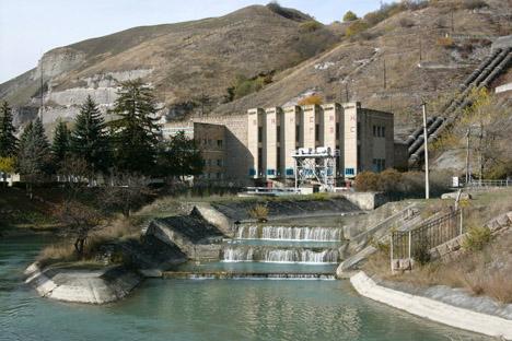 Usina Hidrelétrica de Baksána foi reinaugurada no final do ano passado. Foto: PhotoXpress