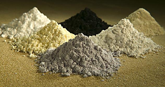 Minérios raros. Foto: wikipedia.org