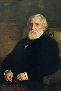 Turguêniev (1818-1883) retratado por Repin.