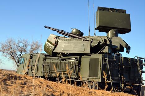 Uma bateria com seis Pantsir-S1 é capaz de destruir 24 alvos ao mesmo tempo Foto: mil.ru