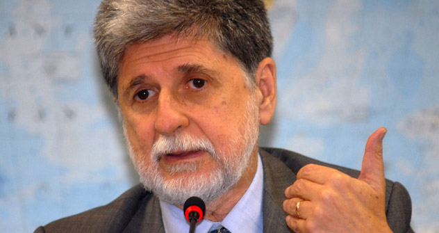 Ministro da Defesa do Brasil, Celso Amorim. Foto: wikimedia.org