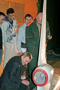Os testes foram realizados no túnel de vento transônico T-128. Foto: tsagi.ru