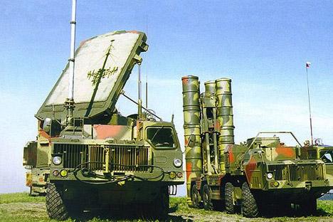 Sistemas de defesa antiaérea S-300 PMU Foto: mil.ru