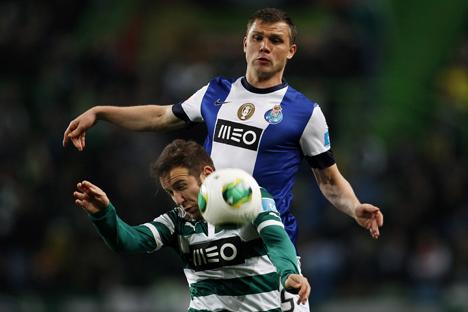 "Izmaylov foi apelidado pelos torcedores nortenhos de ""is my love"" . Foto: Reuters"
